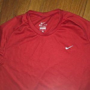 Long sleeve Nike work out shirt